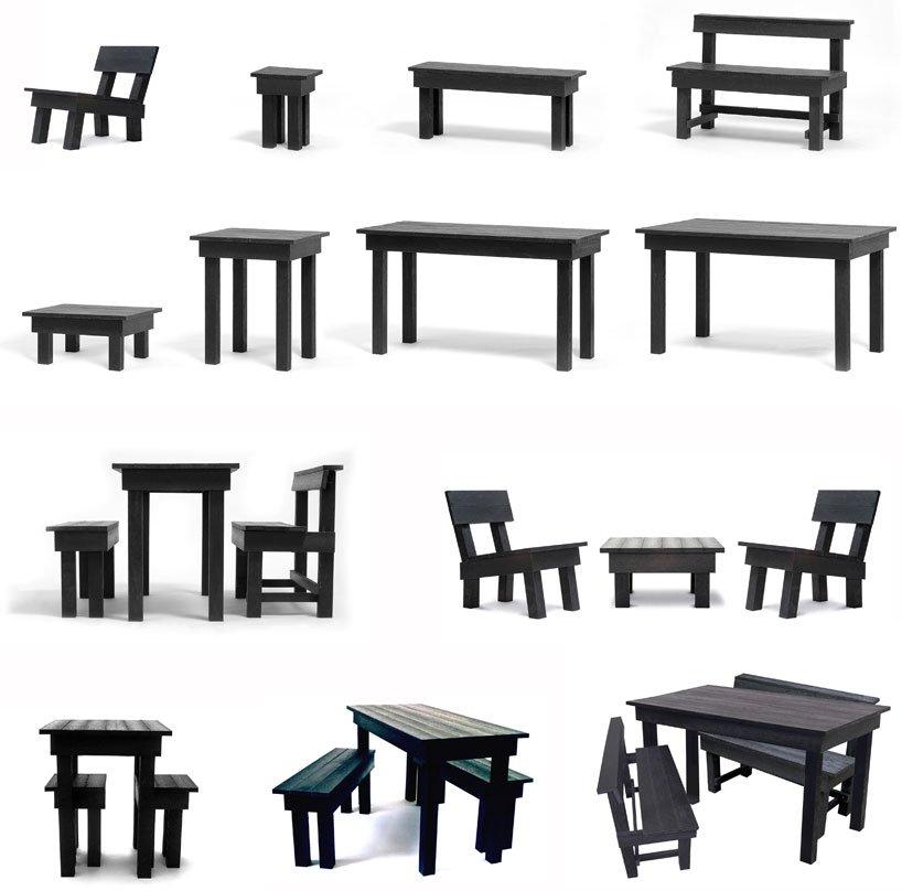 Ineke Hans. Ontwerpt al sinds jaar en dag circulaire meubels…..!